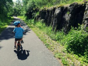 Ścieżka rowerowa Vulkanradweg